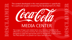 Coca-Cola Media Center Presentation